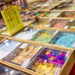 駄菓子で人気・うまい棒・きびだんご・さくらんぼ餅・チロルチョコ
