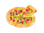 ピノッキオ神戸三宮のピザ屋さん!一番人気はピノッキオピザ