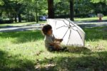 折り畳み日傘を男がさしてもダサイ キモイといわせないデザイン!