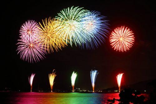 関門海峡花火大会2019穴場スポットや駐車場と見どころ開催情報